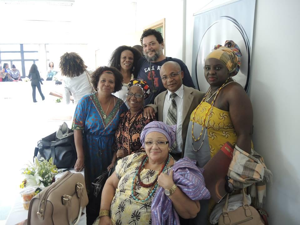Makota Celinha Gonçalves Souza, Ligia Borges, Virginia Miranda de Sousa, Walmir Damasceno e Makota Kizandembu Tania Cristina