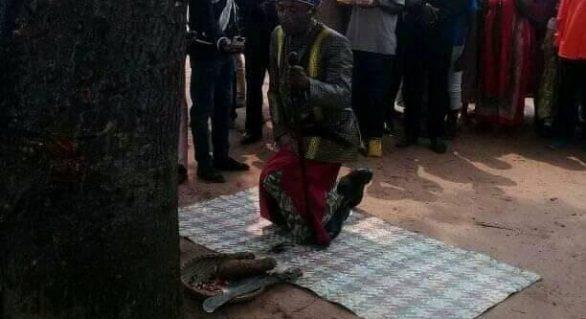Soberano da Lunda Sul, em Angola, faz abertura do ano novo Cokwe (Tchokwe)