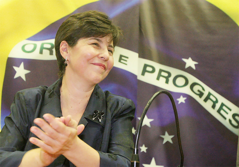 Ministra de Estado de Desenvolvimento Social e Combate à Fome Tereza Campello