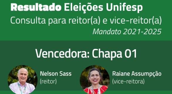 Chapa Fazemos Unifesp, apoiada pelo ILABANTU, vence eleições para Reitor e Vice-Reitora